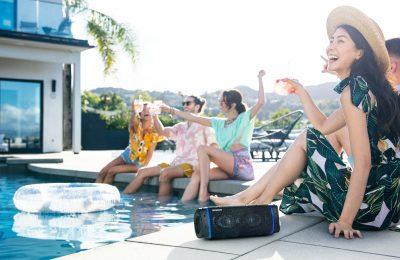 Sonyn uusien EXTRA BASS Bluetooth -kaiuttimien avulla nautit musiikista laadukkaasti missä ja milloin tahansa