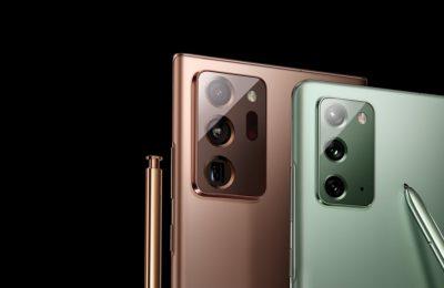 Samsungin uudet Note20 -puhelimet