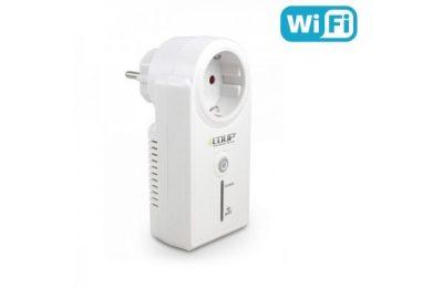 Wifi-ohjattu pistorasia moneen käyttökohteeseen