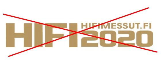 Korona tappoi HIFI2020 -hifimessut!