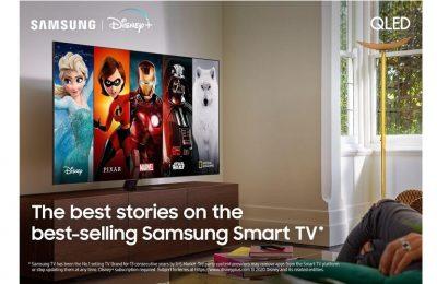 Disney+ Samsungin älytelevisioihin Pohjoismaissa