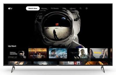 Apple TV+ ja Apple TV -kanavat sekä paljon muuta valikoituihin tv-malleihin