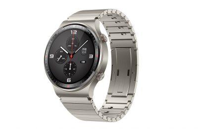 Tyyliä ja teknologiaa samoissa kuorissa -  Porsche Design Huawei Watch GT 2 -älykello