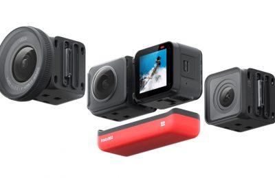 Modulaarisesti muokattava toimintakamera Insta360 ONE R
