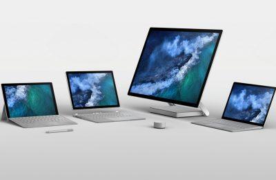 Microsoftin kolme Surface-tietokonetta saataville tänään