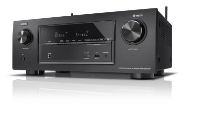 Denon AVR-X3400H tarjoaa tehoa ja ominaisuuksia