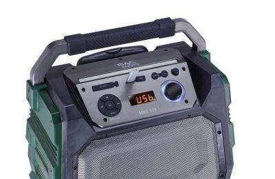 MacAudiolta järeämpi bluetooth-reissukaiutin