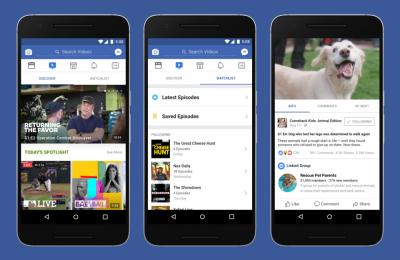 Facebookiin tulossa tv-sarjoja