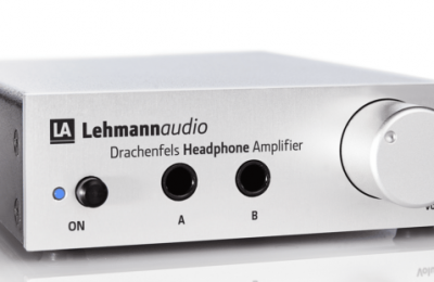 Lehmannilta kahden kuulokkeen kuulokevahvistin