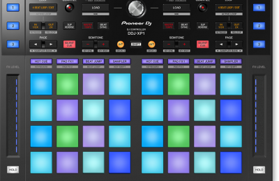 Pioneer DJ:lta intuitiivinen lisäkontrolleri