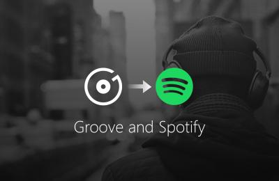 Microsoft lopettaa Grooven, suosittelee Spotifyä