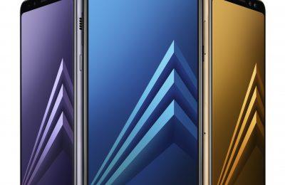 Samsung julkisti uudet A8-puhelimet