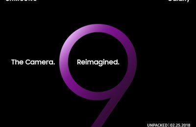 Samsung S9:n julkistuspäivämäärä paljastui