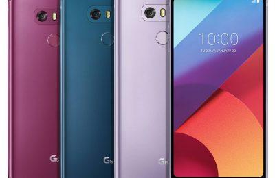 LG:n puhelimille uusia värivaihtoehtoja