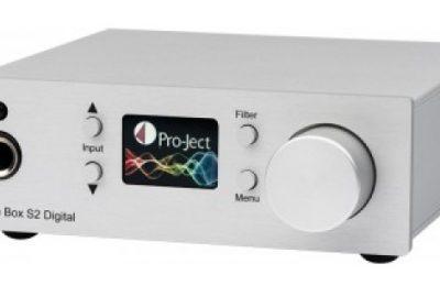 Pro-Jectin kuulokevahvistin/dac tarjoaa paljon digipotkua pienessä paketissa
