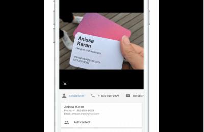 Googlen Lens-ominaisuus saapuu iOS-käyttöjärjestelmälle