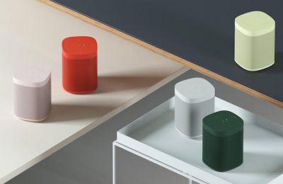 Sonos One -kaiuttimet saavat viisi pirtsakkaa värivaihtoehtoa