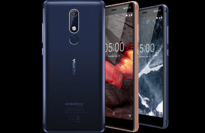 Nokia 5.1:n värivaihtoehdot