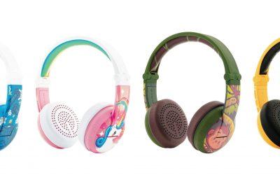 Lapsille suunnitellut BuddyPhones WAVE -kuulokkeet saapuivat Suomeen
