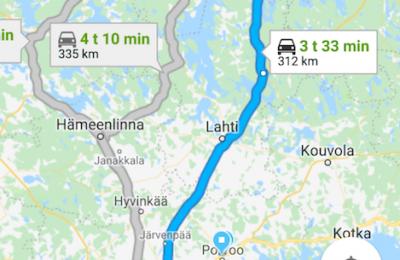 Google-karttojen kevyempi Go-versio sai navigointiominaisuuden
