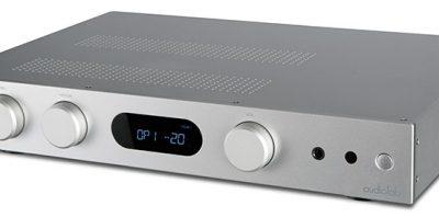Audiolabilta edullisempi integroitu vahvistin – da-muuntimelta luvataan vakuuttavaa suorituskykyä