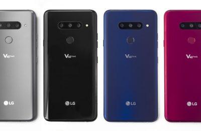 LG esitteli V40 ThinQin – kolme takakameraa ja kaksi etukameraa sekä järeä da-muunnin