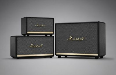 Marshallilta kolme uutta bluetooth-kaiutinta ja nappikuulokkeet