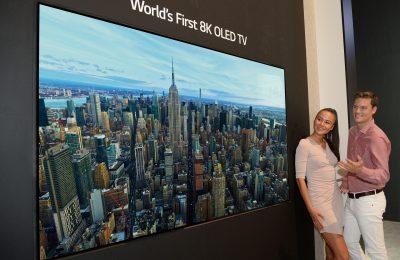 Kilpailu kovenee – LG:n 8K-televisiot saattavat tulla saataville ensi kesänä