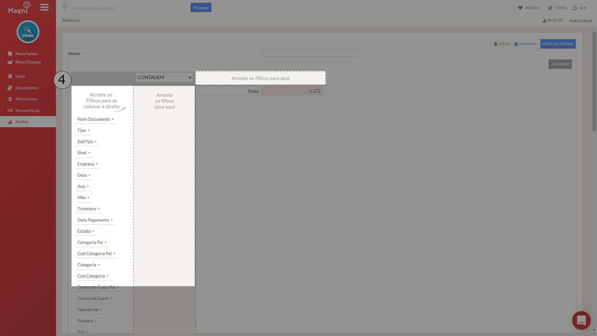 Como Criar Uma Tabela PIVOT - Passo 4