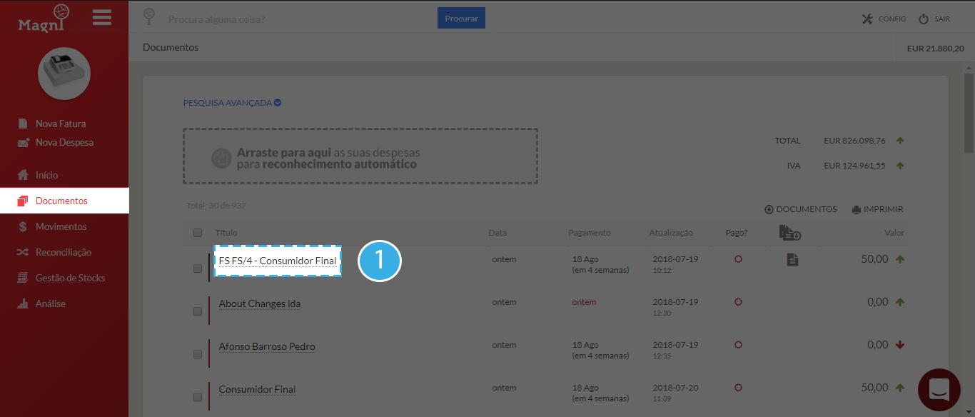 Como Enviar Um Documento Por Email - Passo 1