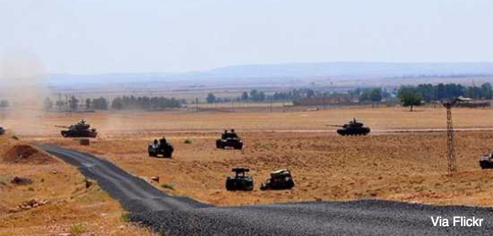 Waarom Turkije nu met tanks Syrië intrekt (met de oorlog tegen IS heeft het in ieder geval weinig te maken)