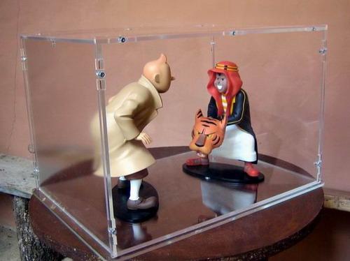 Urna - Expositor de metacrilato para maquetas
