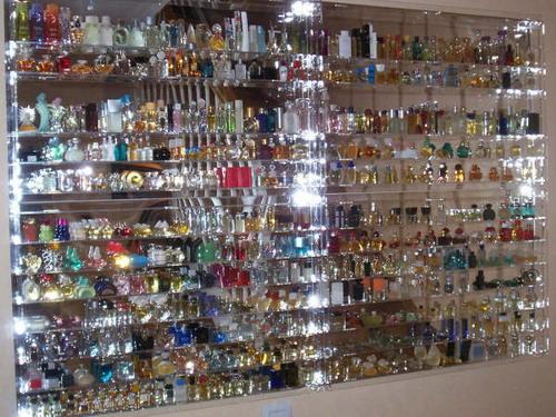 Expositor - Vitrina de metacrilato para perfumes