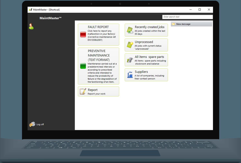 MaintMaster Instandhaltungssoftware