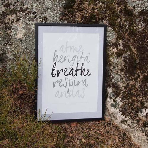 breathe-juliste
