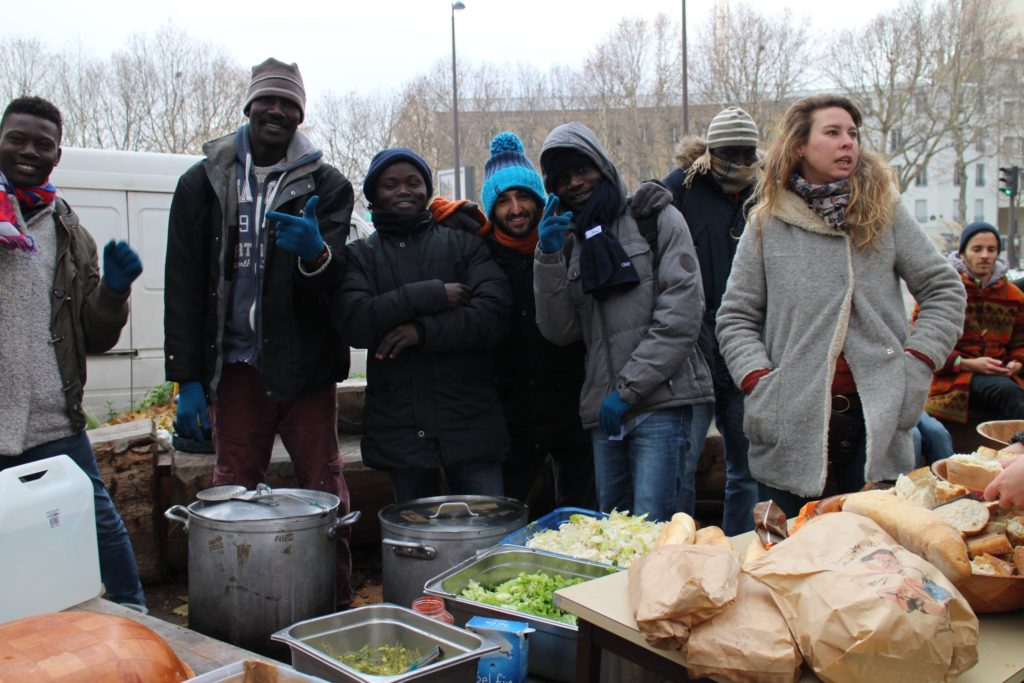 disco soupe makesense discofugees Alice Hérait