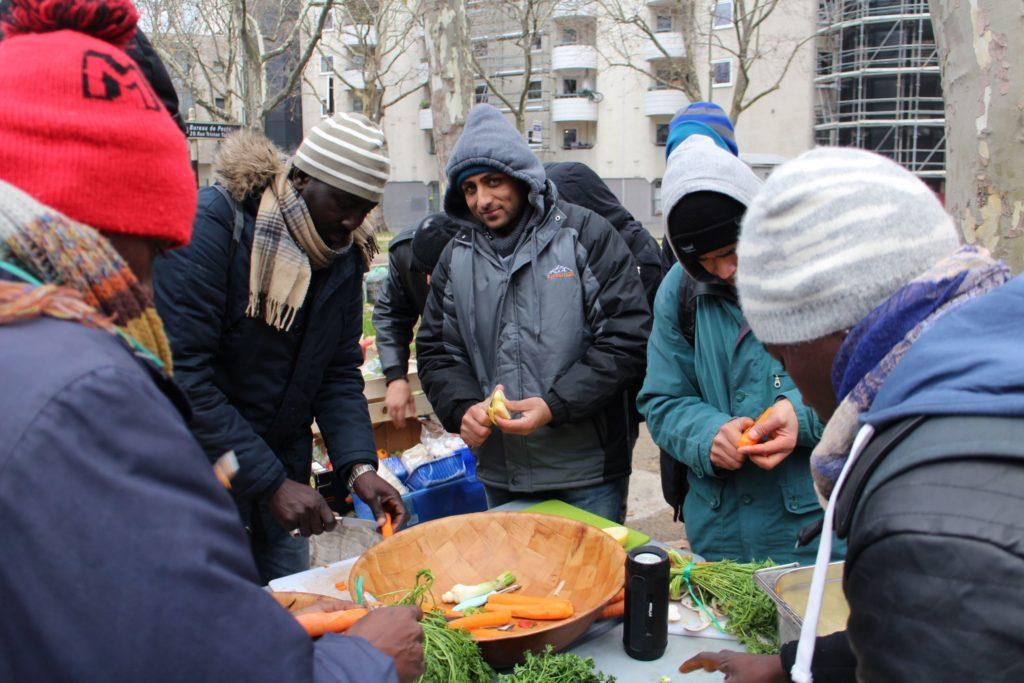 makesense disco soupe discofugees migrants Alice Hérait