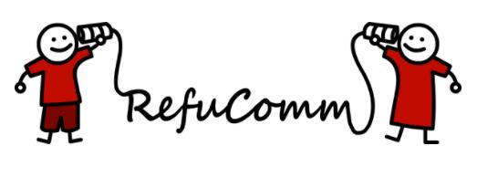 refucomm refugees social business