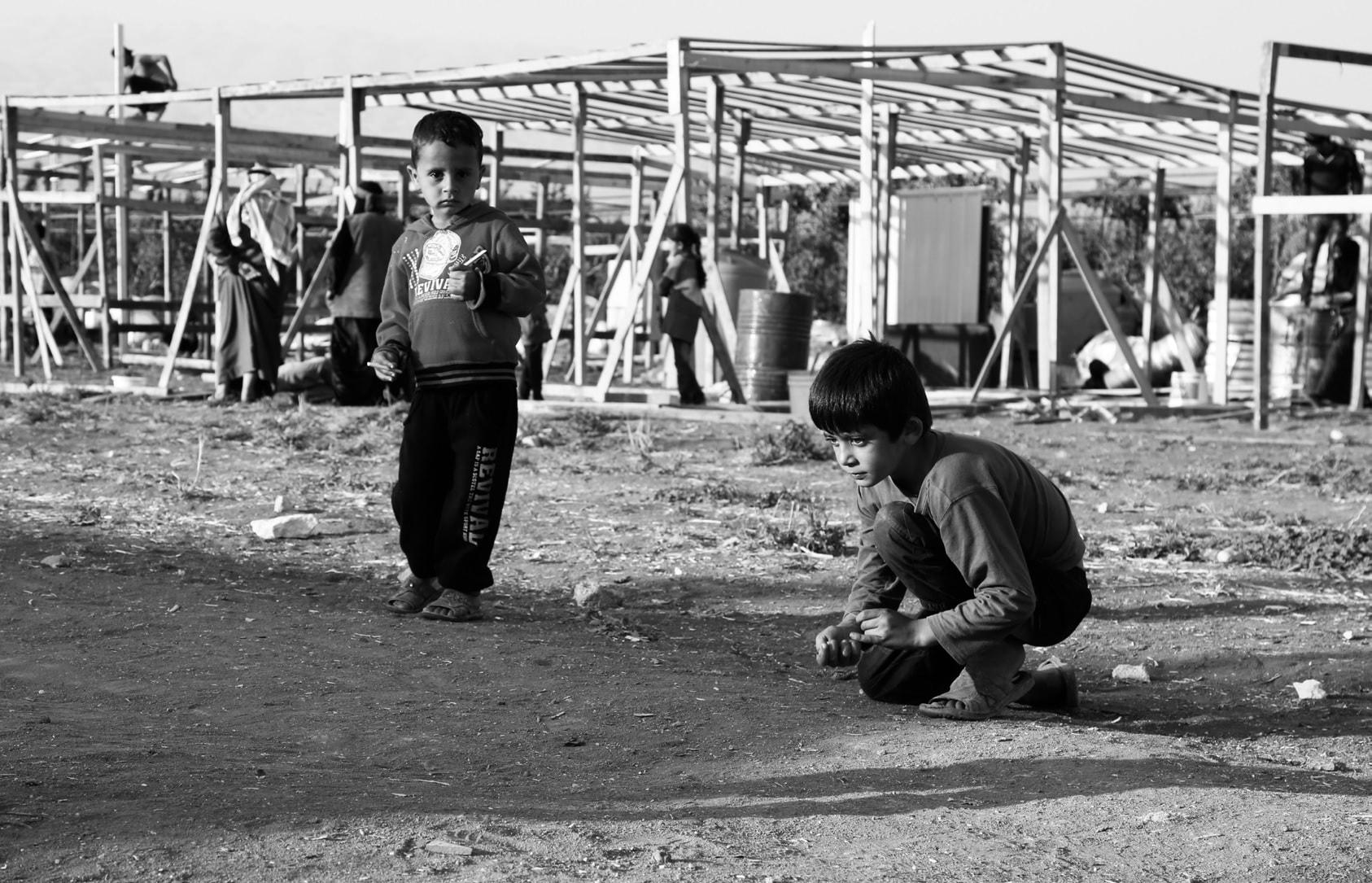 Phtographie d'Assem Hamsho tirée des lieux des temps zéro