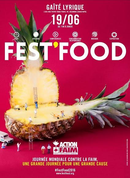 Affiche Fest Food 2016
