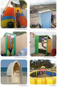Exemples de toilettes sèches DIY