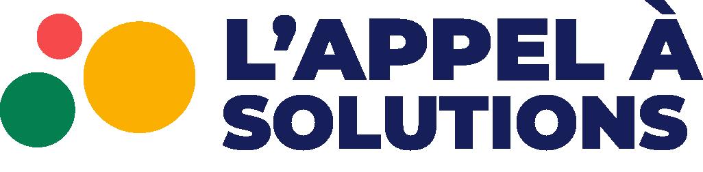 Accueil - Appel à solutions
