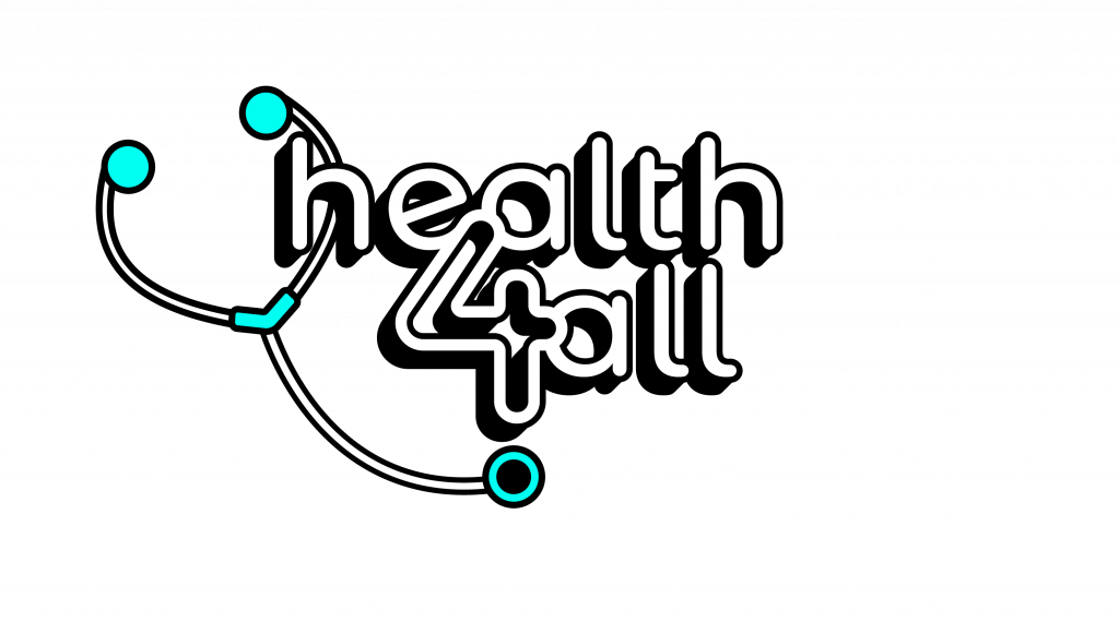 Health4All logo: Building a Healthier Philippines