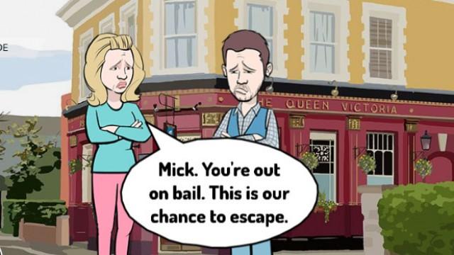 Story of the week - EastEnders Series 1 Episode 2