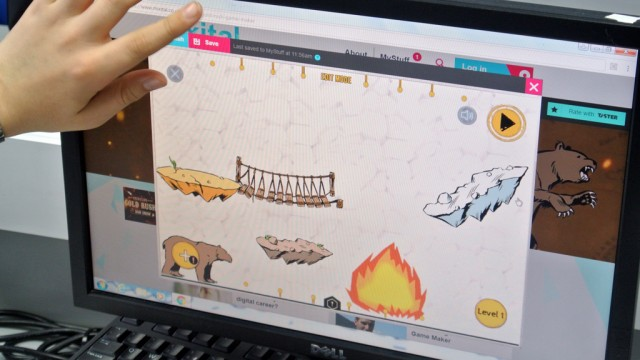 Gold Rush Game Maker and The Digital Schoolhouse