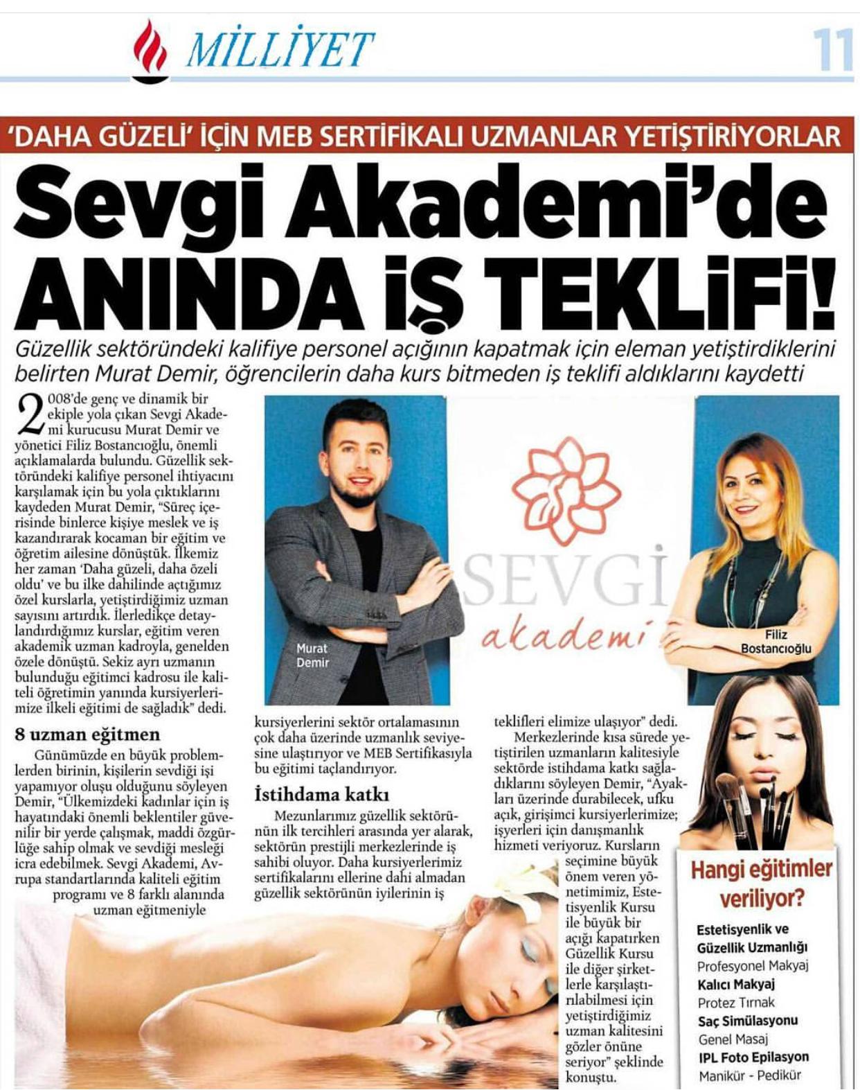 Estetisyenlik Kursu İzmir & Güzellik Uzmanlığı Kursu (4.Seviye - Ustalık)