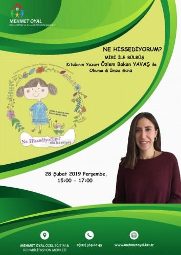 Özlem BAKAN YAVAŞ ile Okuma ve İmza Günü - Şubat 2019