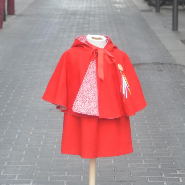 disfraces caperucita roja nia