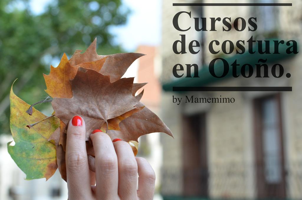Cursos de costura en otoño 2014