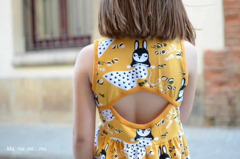 Inspírate en verano día 3- Soleil dress